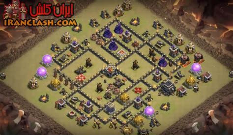th9 layout december update th9 war base dec 1024x592 بدوگیم مرجع کلش اف کلنز