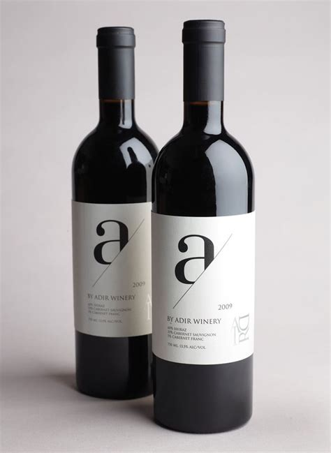 modern wine labels pack pinterest