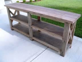 rustic sofa table console warm and beautiful rustic sofa