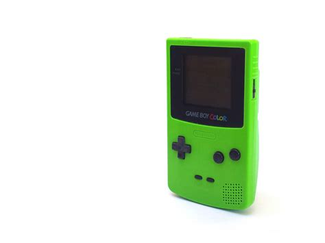 green nintendo boy color free stock photo