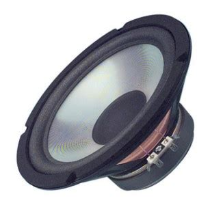 Speaker Woofer Elsound 5inch 80watt 8ohm new 8 quot subwoofer speaker home audio replacement 8ohm woofer eight inch driver ebay