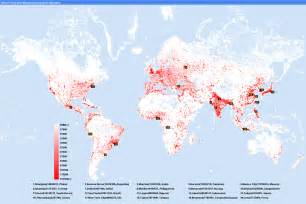 World Population Density Map by Pics Photos Map Population Density Map Religions World