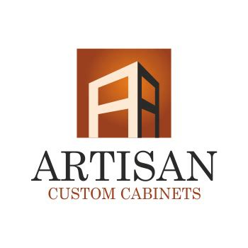 Kitchen Cabinets Logo creative logo design for artisan custom cabinets