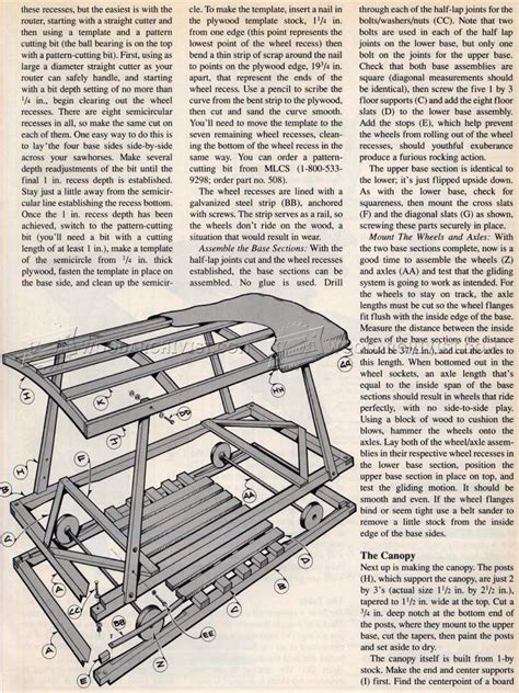 Wood Bench Table Plans