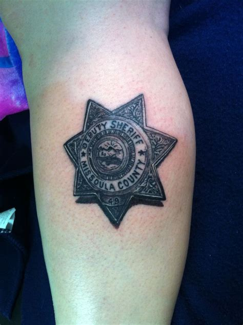 police badge tattoo 66 best enforcement tattoos images on