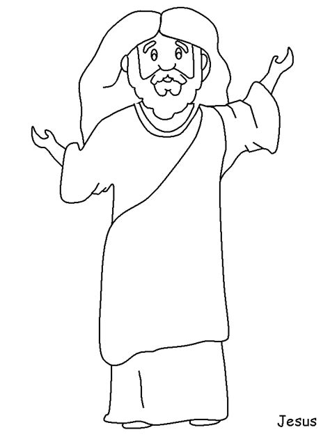 Coloring Page Of Jesus by Free Coloring Pages Of Jesus As