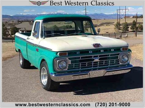 1966 Ford F100 For Sale by 1966 Ford F100 For Sale On Classiccars
