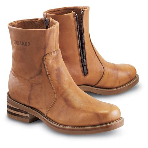 mens zip boot s durango boot 174 hideout side zip boots rust 103441