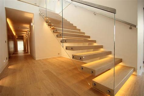 Wooden Interior by Staircase Lighting Ideas To Brighten Up Your Home