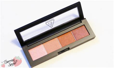Eyeshadow 3ce review 3ce eye shadow palette up berries in the snow
