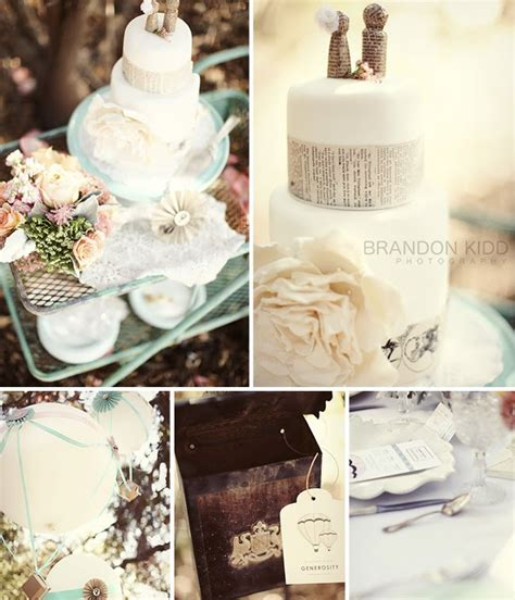 inspired by these air balloon themed weddings inspired by this