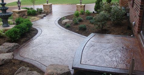 Decorative Concrete Walkways decorative concrete