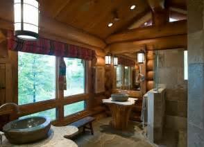 rustikale m 246 bel 50 beispiele f 252 r moderne badm 246 bel im log home master bedrooms log home bathroom log cabin