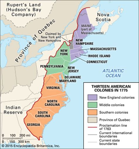 13 colonies in 1775 students | britannica kids