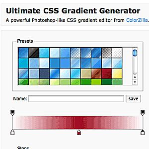 pattern gradient generator creating cross browser linear gradients with css3