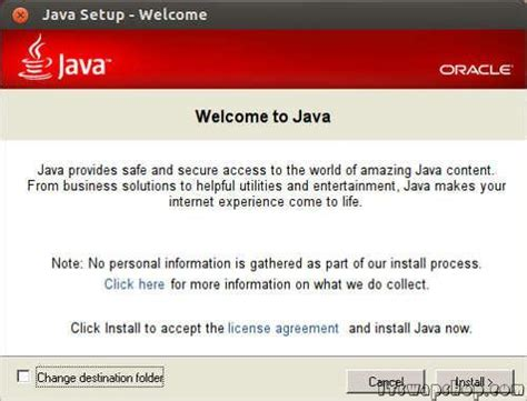 tutorial install java linux how to install windows version of java with wine in ubuntu