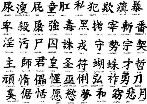 más de 30 fotos de letras chinas y significados para