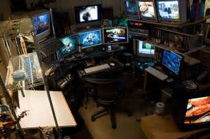 Hacker Desk Top 96 Kick Home Office Setups