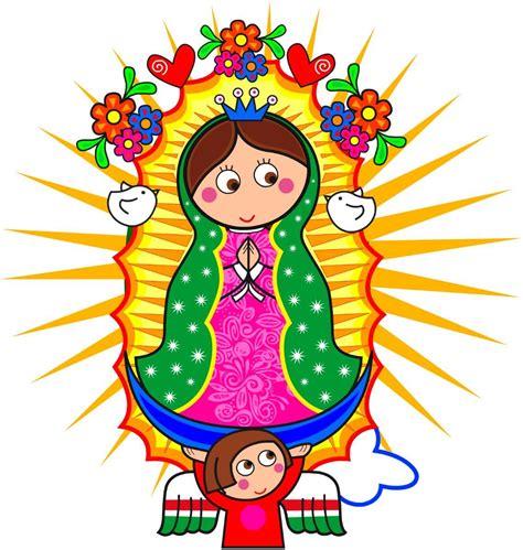imagenes catolicas en caricatura virgencita plis distroller wallpaper imagui