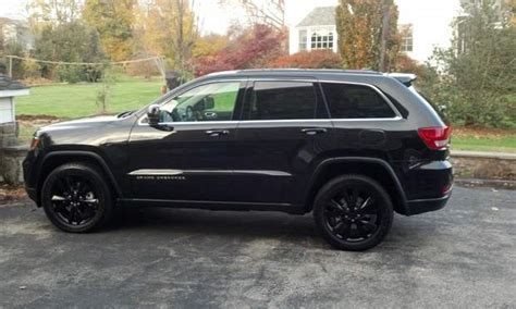 Black Jeep Grand Black Rims Jeep Grand Rental In Ny Relayrides