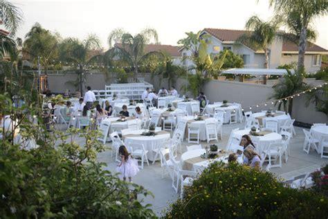 backyard receptions fresh fun wedding with backyard reception california