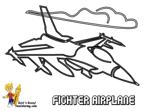 Ferocious Fighter Jet Planes Coloring Jet Planes Free Fighter Coloring Pages