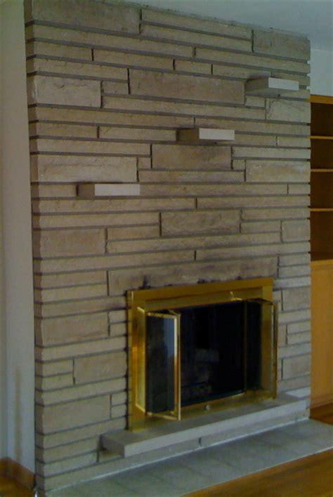 decorating a mid century fireplace help retro renovation