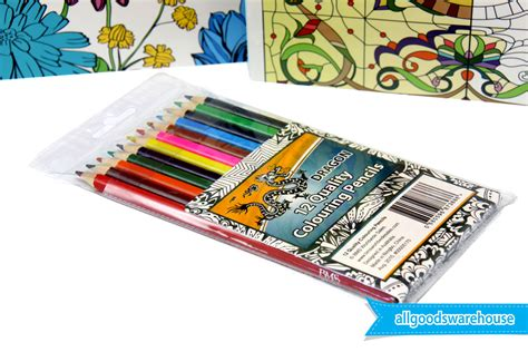 anti stress colouring book with pencils flowers stained glass relaxing anti stress