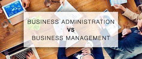 Difference Between Mba And Business Management by The Difference Between Business Administration And