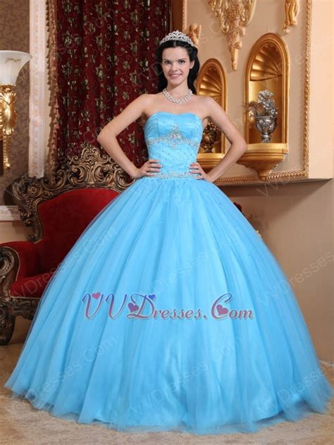 quinceanera themes blue strapless aqua blue quinceanera themes dress under 200 dollars