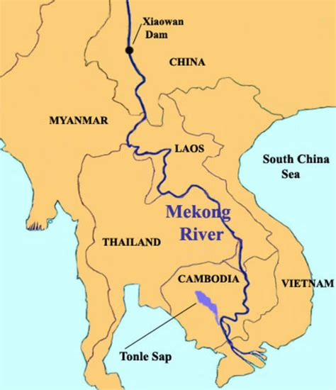 mekong river map khmerization the mekong river threat