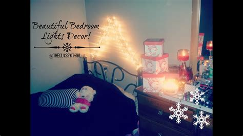 christmas diy decorbeautiful bedroom lights youtube