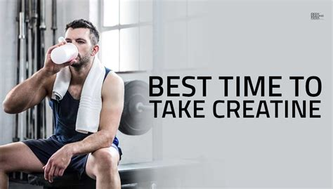 When Is The Best Time To Take A Detox Drink by Best Time To Take Creatine Bodybuilding India