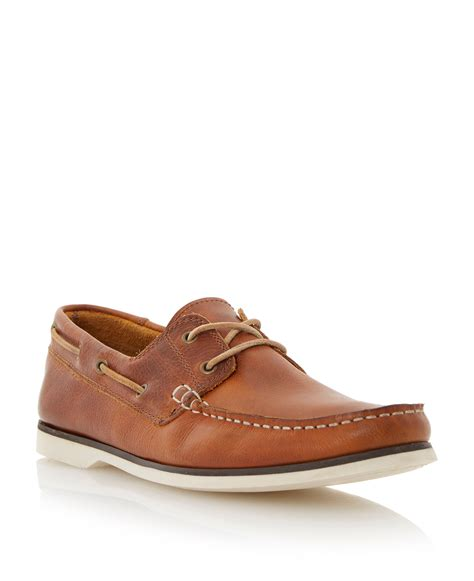 boat house shoes bertie battleship boat shoes in brown for men lyst