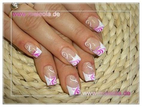 Id E D Co Ongle Blanche by Ongle En Gel Decoration