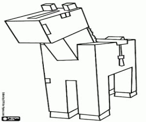 minecraft horse coloring page minecraft coloring pages printable games