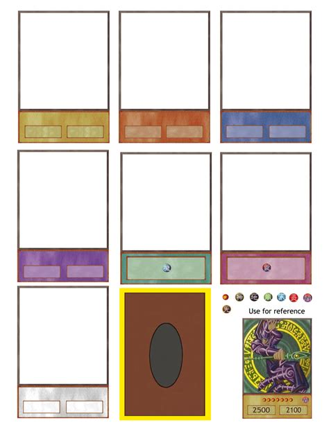 Yugioh Zarc Card Template by Ygo Card Maker Updated Again By Hoshikan On Deviantart