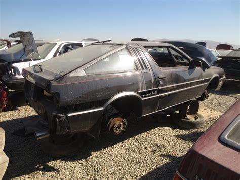 junkyard find 1984 mitsubishi starion le