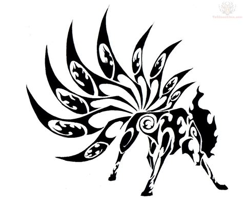 tribal fox tattoo fox images designs