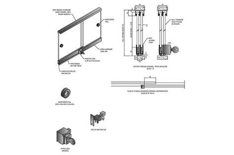 Sliding Wardrobe Door Mechanism by Sliding Door Mechanism South Africa Jacobhursh