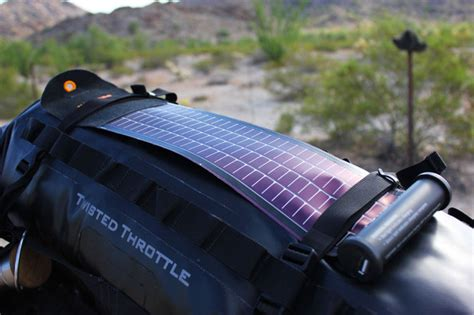 Lu Emergency Ms 1000 Solar Charger Batery piste a ride across america part 5 of 5 cool