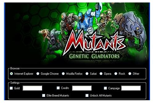 herunterladen cheat engine mutant genetic gladiator dengan cheat