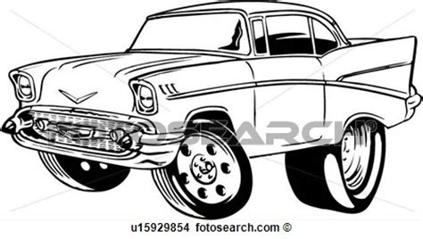 15 chevy classic car vector art images classic cars