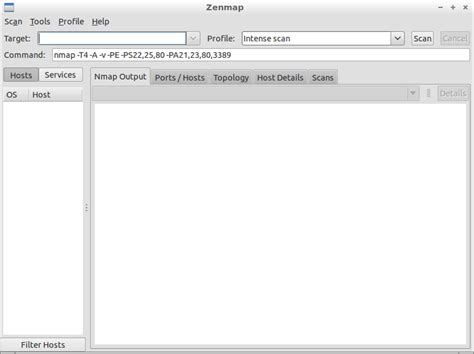 nmap fingerprinting tutorial how to scan network with nmap gui linksprite learning center