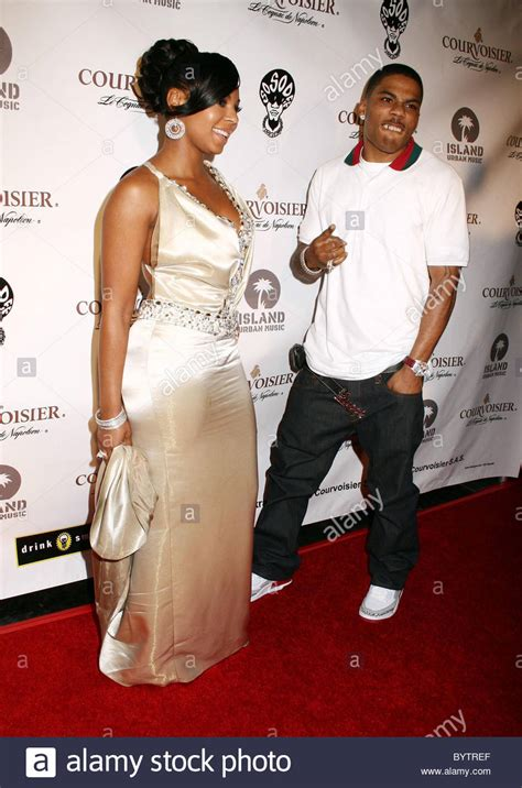 nelly house ashanti and nelly house of courvoisier after party held at the stock photo royalty