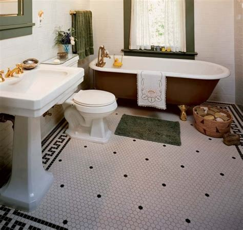 bathroom floor tiling ideas 30 ideas on using hex tiles for bathroom floors