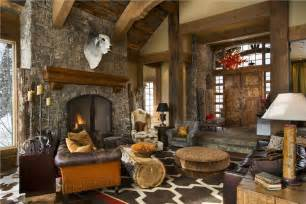 Open country rustic living amp family room by jerry locati