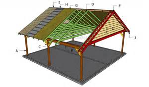 Carport Building Plans by How To Build A Double Carport Howtospecialist How To
