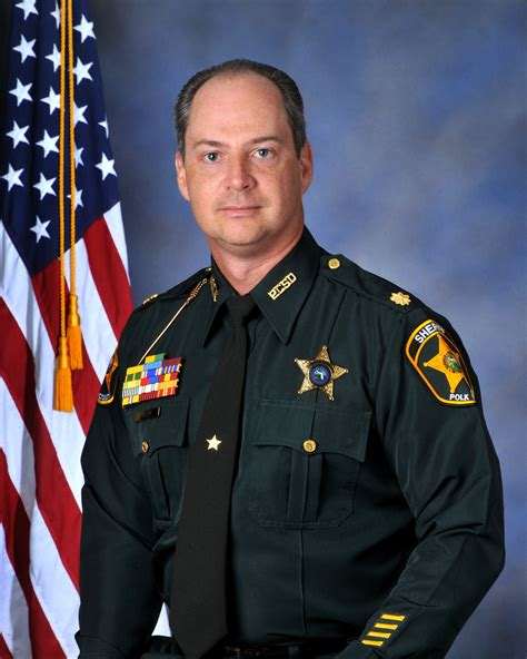 Polk Sheriff Office by Security Division Major Biography