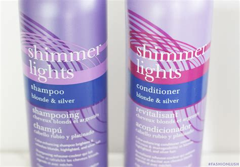 Shimmer Lights Shoo Review by Brunettes Can Def Should Use Purple Shoo